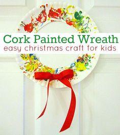 Easy Christmas crafts for kids   http://craftsandcreationsideas.blogspot.com