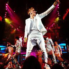Justin Bieber Performs at Energy Solutions Arena – UTAH