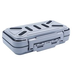 Acekit Waterproof Fishing Tackle Box For Lures Lake Bait Casting Fishing - Grey  http://fishingrodsreelsandgear.com/product/acekit-waterproof-fishing-tackle-box-for-lures-lake-bait-casting-fishing/?attribute_pa_color=grey  There are 4 trays could be DIY into smaller 8 trays with the insert pieces Size of the max tray: 2.8*1.1 inch for lure bait Material:ABS engineering plastics and transparent plastic