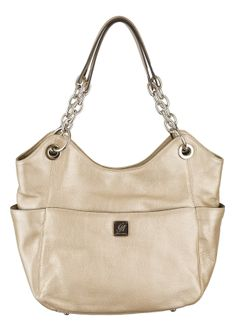 The #GraceAdele Carly #bag in Metallic. Megansmith717.graceadele.us