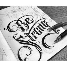 Instagram media by handmadefont - By @pommechan #handmadefont #lettering…