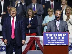 Nigel Farage to Trump Rally: 'You Can Beat the Pollsters… You Can Beat…Nothing like a True Englishman---Go ENGLAND!!