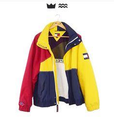 Vintage Tommy Hilfiger Jacket #KoreanFashion