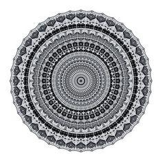 Mandala Round Vinyl