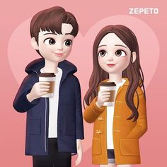 Cute Couple Images, Love Cartoon Couple, Cute Cartoon Pictures, Cute Love Cartoons, Girly Pictures, Anime Couples Drawings, Girly Drawings, Cute Anime Couples, Cartoon Wallpaper Hd
