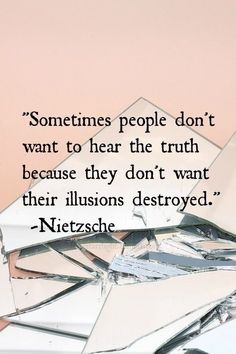 What a warped reality u live in... ;)