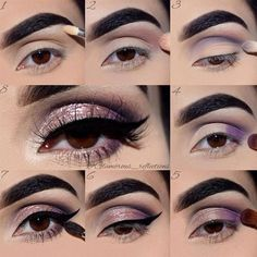 Eye makeup tutorials always come to our rescue when we wish to try something new but have no idea how to do that. Click to see our gallery of easy step-by-step makeup tutorials.