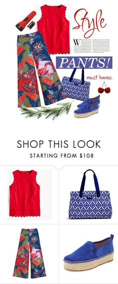 """Style Pop 2016"" by princessbollywood ❤ liked on Polyvore featuring J.Crew, Vera Bradley, House of Holland, Sam Edelman and Nika"