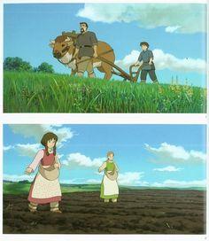 Studio Ghibli, Tales From Earthsea, The Art of Tales From Earthsea, Arren, Tenar