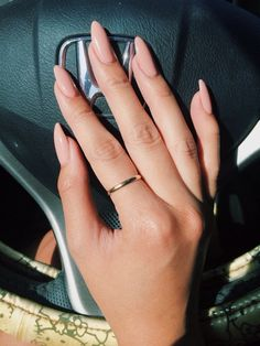 Color Nails Salon - Nude soft stilletto nails $30 by Don - San Jose, CA, United States
