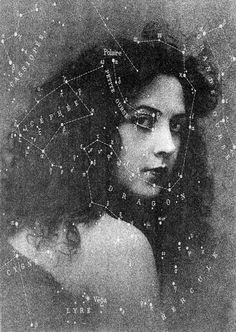 .Constellations Etched.  (Jeanne Roques stage named: Musidora)