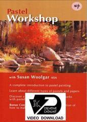 VIDEO DOWNLOAD:  Pastel Workshop with Susan Woolgar