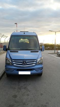 Our company welcomes 2016 by adding to its fleet a more luxurious car. A new Mercedes Sprinter Blue is now available for luxury transport of visitors on private trips. The vehicle can safely carry 19 passengers and features leather chairs, televisions, DVD, air conditioning. New Mercedes Sprinter, Mini Bus, Televisions, Leather Chairs, New Model, Conditioning, Athens, 2 In, Transportation