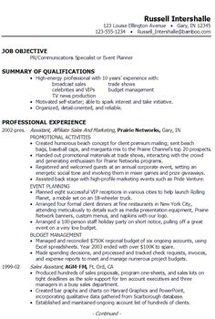 Product Marketing Specialist Sample Resume Get Ideas On How To Market Yourself To Employers With This Cover .
