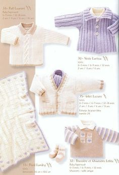Albums archivés Baby Knitting Books, Knitting For Kids, Knitting Magazine, Crochet Magazine, Crochet Fashion, Baby Booties, Clothing Patterns, Knitting Patterns, Knit Crochet