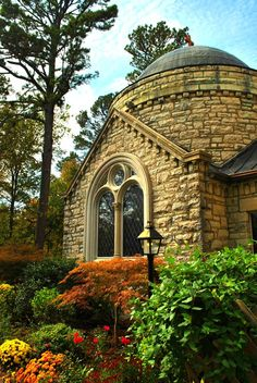 St. Elizabeth Catholic Church in Eureka Springs, Arkansas, USA