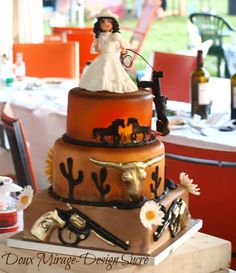 Wild West Wedding Theme | cakes | Pinterest | Western wedding cakes ...