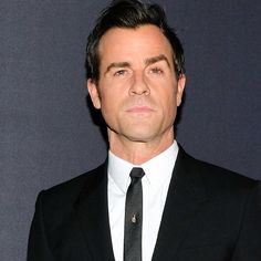 Oh, This? It's Just Justin Theroux Killing It In a Black Suit | GQ