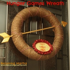 Becoming Martha: Hunger Games Wreath