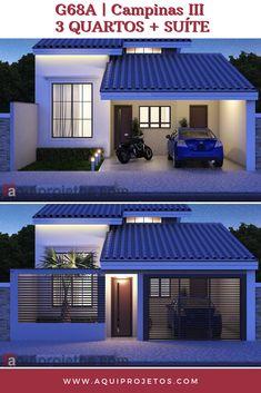 House Gate Design, Duplex House Design, Simple House Design, House Layout Plans, House Layouts, House Plans, House Construction Plan, Home Landscaping, Sims House