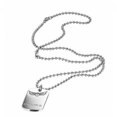 Collier Police Icarus acier - Police Dog Tags, Dog Tag Necklace, Police, Pendant Necklace, Jewelry, Collection, Male Jewelry, Nice Jewelry, Man Women
