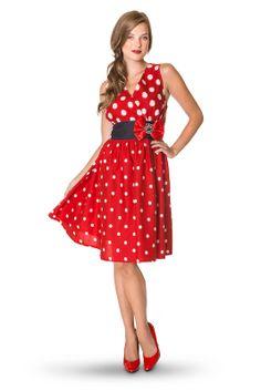 Minnie Mouse Sleeveless Dress for Women