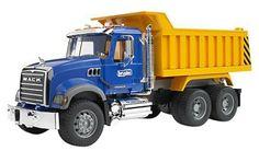 Bruder Mack Granite Dump Truck - Free Shipping
