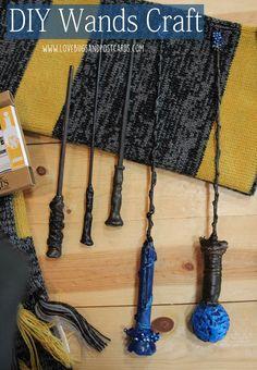 DIY Wands Craft - Harry Potter, Wizard