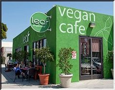 Vegan Cafe Los Angeles Leaf Organics