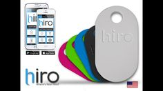 Hiro, a bluetooth thing finder for both iPhone and Android phones. Designed and Assembled in the USA!