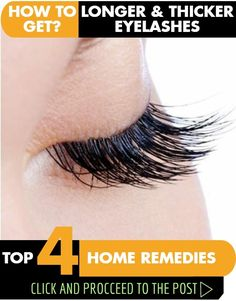 1. Castor Oil The powerful follicle-stimulating and nourishing castor oil can help you enjoy lustrous and voluminous lashes. It also helps fight micro-organisms that hamper growth. Follow either of these remedies daily for 2 to 3 months.