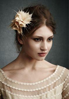 BHLDN bridal hair accessory | Weddingbells.ca