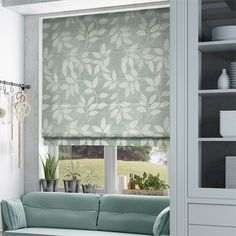 Arbol Duck Egg Roman Blind
