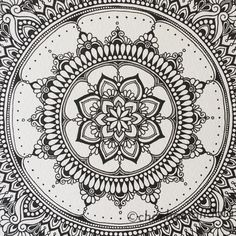 More details of my flower. CHACHA Mandala #曼荼羅 #マンダラ #絵 #手書き #handpainted #イラスト #drawing #mandala #mandalas #mandalaart #mandaladrawing #mandalaartist #blackandwhite #black #blackpen #黒 #zentangle #zentangleinspiredart #zentangleart #禅 #flower #flowers #花 #chachamandala #ゼンタングル #ゼンタングルアート #mandalala