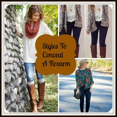 Tips on staying stylish while you concealed carry a firearm