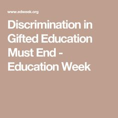 Discrimination In Gifted Education Must >> 86 Best Equity Images Common Cores Learning Teaching