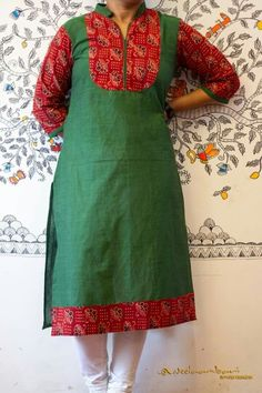 Nb Neck Patterns For Kurtis, Kurti Patterns, Dress Patterns, Simple Kurti Designs, Blouse Designs, Churidar Pattern, Churidar Designs, Kurta Neck Design, Salwar Dress