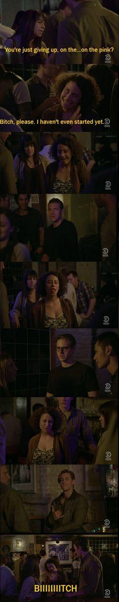"Broad City Season 01 Episode 06 - ""The Pink"" - #broadcity #Humor"