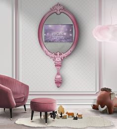 Discover the most amazing pink inspirations for kids' bedrooms with Circu exclusive furniture. Click on the image to see more | CIRCU.NET
