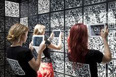 Venice Biennale 2012: i-city / Russia Pavilion Interactive Museum, Interactive Installation, Interactive Design, Installation Art, Exhibition Display, Museum Exhibition, City Museum, Design Museum, Exhibit Design
