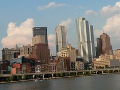Pittsburgh, from The Gateway Clipper