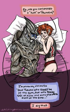 There's No Shepard Without Vakarian: Photo