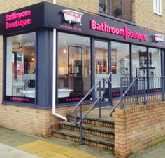 Our local shop. Inside we have many Bathroom facilities, designs & products