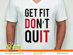 Big Frog Custom T-Shirts of Valrico Fitness Shirts, Workout Shirts, What Inspires You, Custom Shirts, Screen Printing, Custom Made, Just For You, How To Get