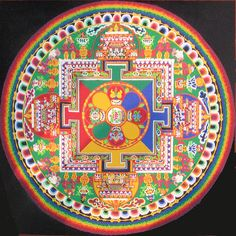 Sand Painting - Mandala by Henry░Law, via Flickr