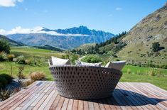 South Island, Queenstown - Lovingly Built Home Surrounded by Pastures and Peaks Modern Family, Home And Family, Golden Triangle, South Island, Mountain Range, All Over The World, New Zealand, Beautiful Homes, Modern Design