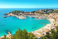 Just 8 miles apart, Spain and Morocco may be coastal neighbors, but they're worlds apart. Now is your chance to explore them both! Amazing Destinations, Vacation Destinations, Port De Soller, Puerto Pollensa, Travel Log, Balearic Islands, Travel Channel, Majorca, Beach Holiday