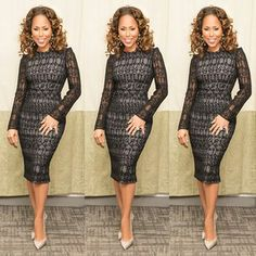 Photo of Marjorie Harvey fashion from her Instagram page.