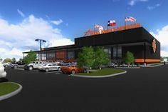 NORTH TX - Adam Smith's Texas Harley-Davidson broke ground today on one of the largest Harley-Davidson dealerships in the country. The new 70,000-plus-square-foot Texas Harley flagship store will be located on a six-acre site in Bedford.