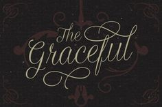 Graceful is a script typeface with a combination of formal and personal touch. Suitable for vintage themed design, wedding invitation, greeting card, label / insignia, etc. It comes up with a bunch of alternate characters which can be used to make an attractive message.
